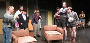 Coronel Brinkley, Hilton und Knox überfallen das Lager